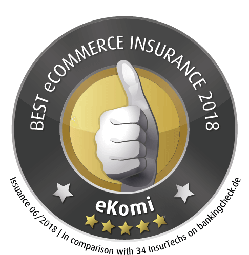 eKomi Beste eCommerce Insurance 2018