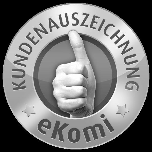 eKomi Kundenauszeichnung